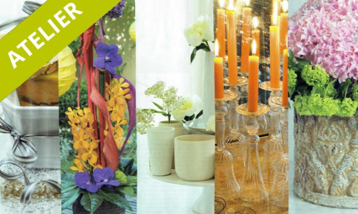 Atelier DIY – Création d'un centre de table floral