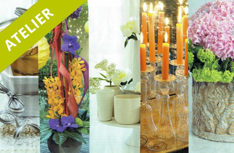 atelier diy cr ation d un centre de table floral mmi d co. Black Bedroom Furniture Sets. Home Design Ideas