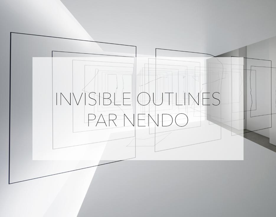 invisible outlines nendo