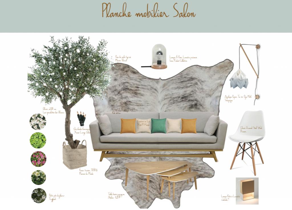 Planche mobilier decoration Aurore Deves