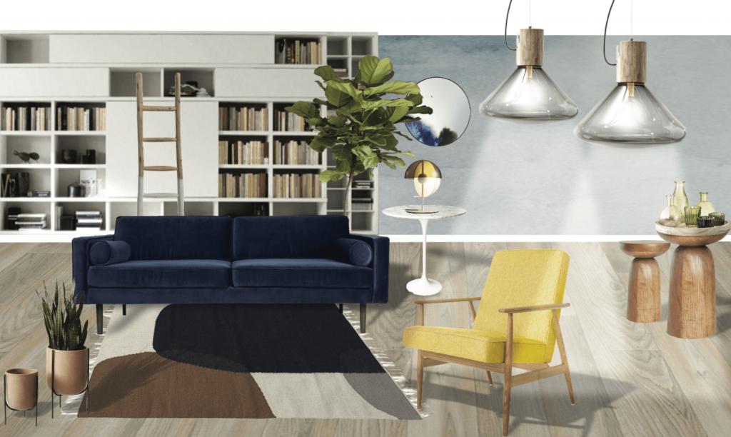 Planche mobilier decoration Céline Bruzzese 3