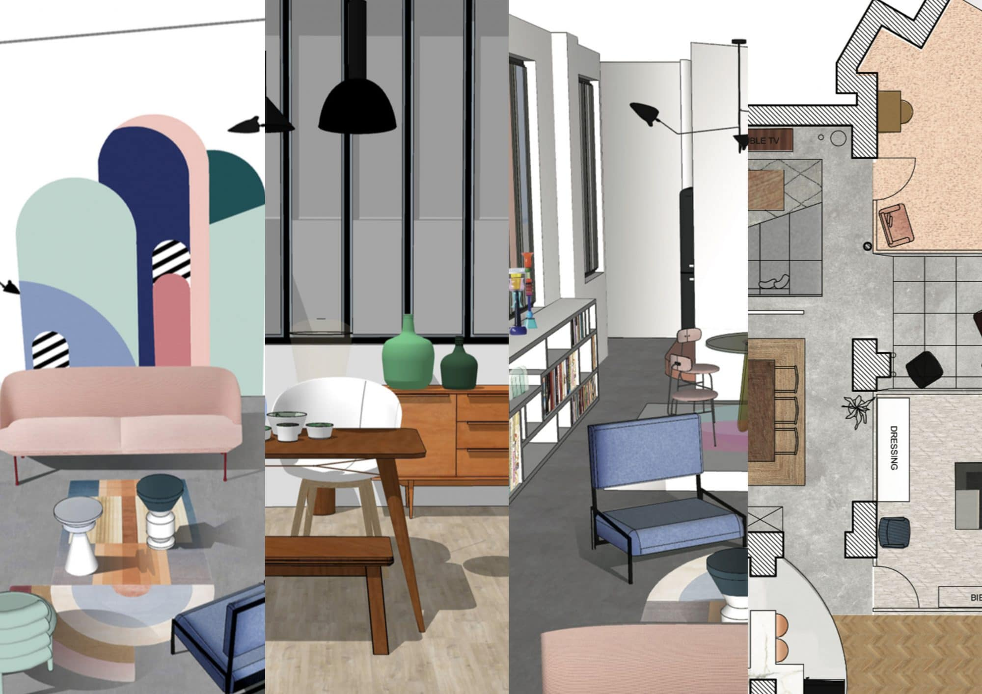 Architecte Interieur 3D Gratuit quels logiciels pour le décorateur et l'architecte d