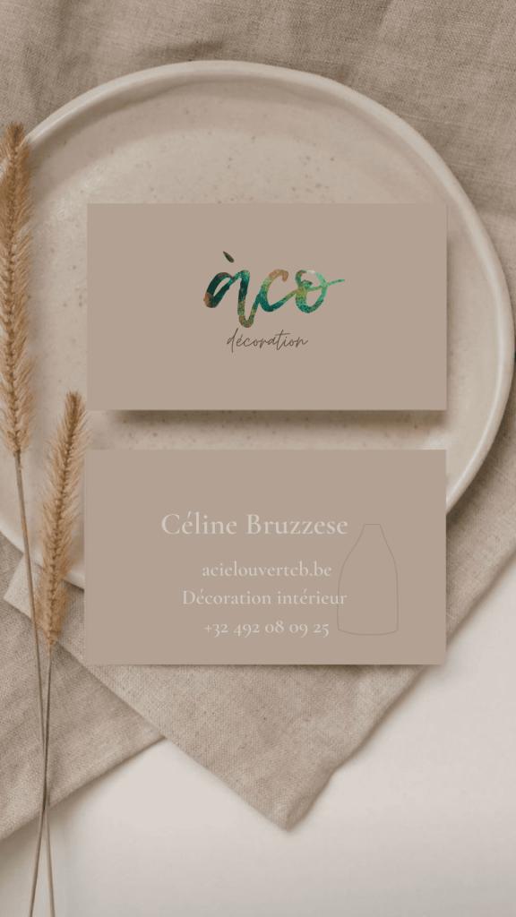 Celine Bruzzesse decoration